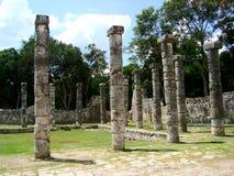 Майяская культура Мексика Pyramide руин chitzen itza yucatan Стоковое Фото