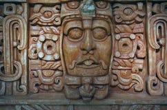 Майяская маска смерти Мерида Мексика Стоковое Фото