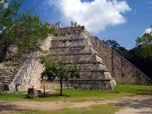 майяская пирамидка Стоковое Фото