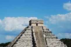 майяская пирамидка Стоковая Фотография