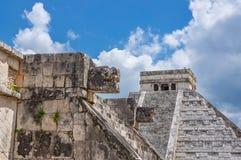 Майяская пирамидка Стоковые Изображения RF