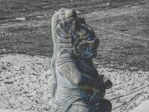 Майяская скульптура стоковые фото