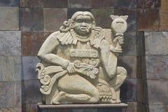 майяская скульптура Стоковое фото RF