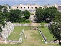 майяская спортивная площадка Стоковое Изображение