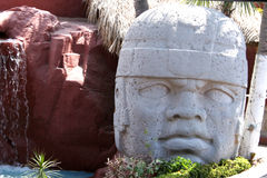 майяская статуя 2 Стоковые Фото