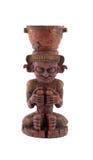 Майяская статуя Стоковые Фотографии RF