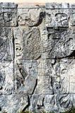 Майяские глифы также известные как майяский сценарий система записи цивилизации Майя стоковая фотография