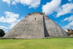 Майяские руины в Uxmal Юкатане Стоковые Фото