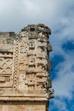 Майяские руины в Uxmal Юкатане Стоковое Изображение RF