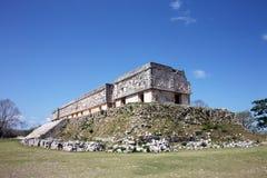 майяские руины Стоковое Фото