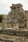 Майяские руины. стоковое изображение