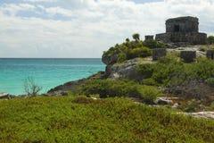 Майяские руины. стоковое изображение rf