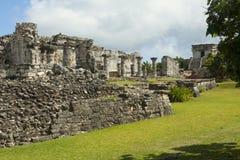 Майяские руины. стоковое фото rf