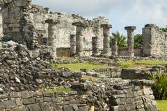 Майяские руины. стоковая фотография