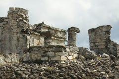 Майяские руины. стоковые изображения