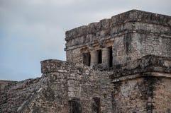 Майяские руины стоковые фотографии rf