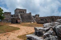Майяские руины стоковые изображения rf