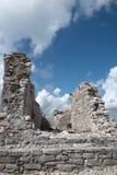 Майяские руины Tulum, Мексики Стоковое фото RF
