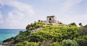 майяский висок talum Мексики Стоковое Изображение RF