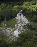 Майяский город стоковое изображение rf