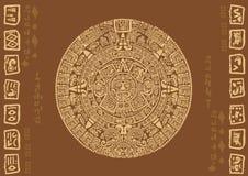 Майяский календарь Стоковая Фотография