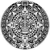 Майяский календар стоковое фото rf