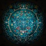 Майяский календарь Стоковое Изображение RF