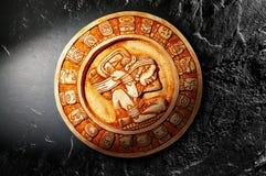 Майяский календарь Стоковые Изображения