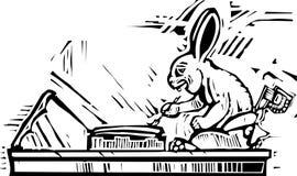 майяский подьячая кролика иллюстрация штока