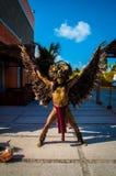 Майяский танцор торжества стоковое изображение rf