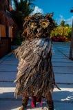 Майяский танцор торжества стоковое фото rf