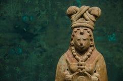 Майяский figurine острова Haina стоковое изображение