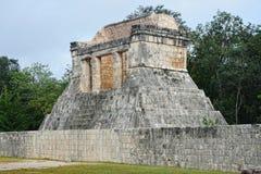 Майяское археологическое место Chichen Itza, Юкатана, Мексики Стоковая Фотография RF