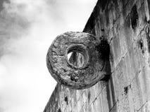 Майяское кольцо цели суда шарика Стоковая Фотография RF