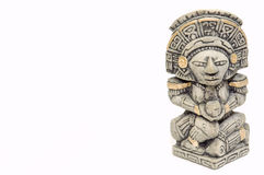 майяское statue1 Стоковые Изображения RF