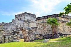 майяское tulum руин Стоковая Фотография RF