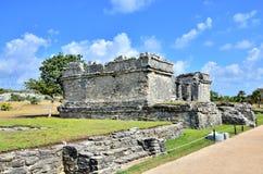 майяское tulum руин Стоковая Фотография
