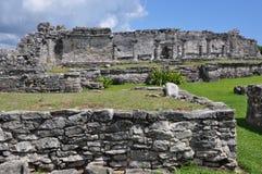 майяское tulum руин Стоковое Фото