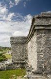 майяское tulum руин Стоковые Фотографии RF