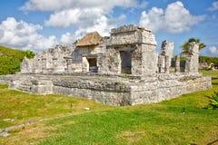 майяское tulum руин Стоковое Изображение