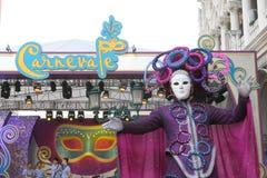Макао: Венецианское Carnevale 2014 Стоковая Фотография