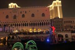 Макао: Венецианское Carnevale 2014 Стоковые Фото