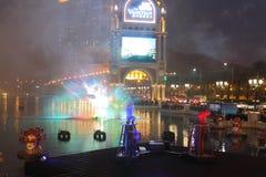 Макао: Венецианское Carnevale 2014 Стоковые Изображения