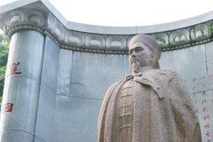 МАКАО - 13-ое декабря 2015: Статуя Lin Zexu на музее мемориала Lin Zexu Стоковые Изображения RF
