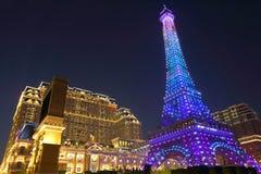 Макао: Парижский Макао Стоковое Изображение