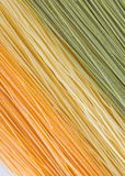 макаронные изделия волос ангела стоковое фото