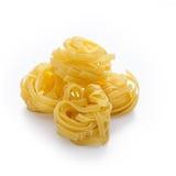 Макаронные изделия гнездя Fettuccine Стоковое Изображение RF