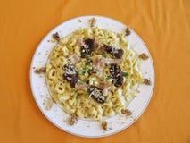 макаронные изделия еды Стоковая Фотография