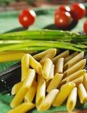 макаронные изделия ингридиента еды Стоковая Фотография
