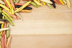 макаронные изделия итальянки граници Стоковое Изображение